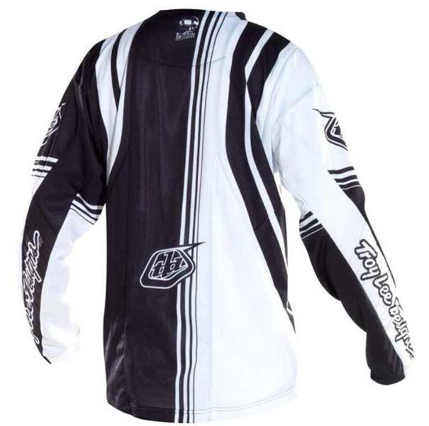 maillot troy lee designs 2012 se imperial blanc noir achat vente troy lee designs 258895. Black Bedroom Furniture Sets. Home Design Ideas