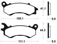 Plaquettes de frein BENDIX 373 MA