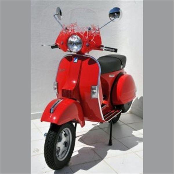 pare brise scooter ermax sportivo 40cm vespa 125 px 2011 achat vente ermax 255688. Black Bedroom Furniture Sets. Home Design Ideas