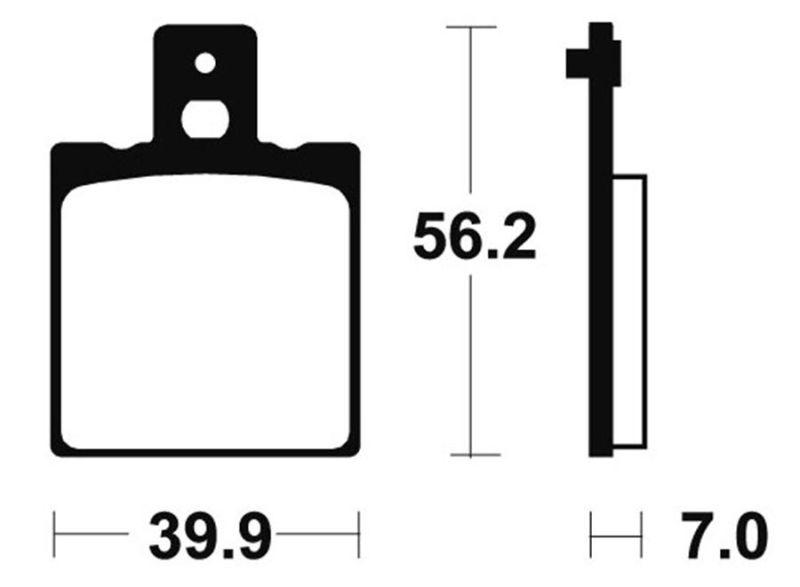 plaquettes de frein braking 612sm1 achat vente braking 258956. Black Bedroom Furniture Sets. Home Design Ideas