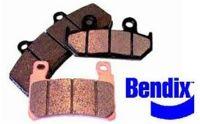 Plaquettes de frein arrière BENDIX MSS248